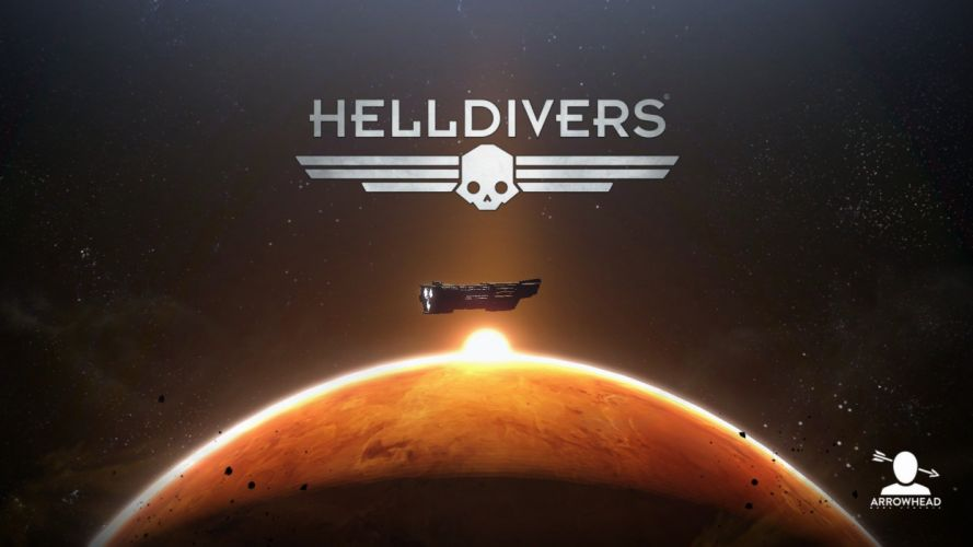 HELLDIVERS shooter sci-fi action futuristic fighting tactical 1hdrivers wallpaper