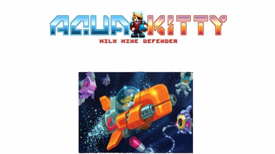 AQUA KITTY submarine arcade shooter ship fighting retro faomily cat kitten 1akitty action adventure sci-fi fantasy wallpaper
