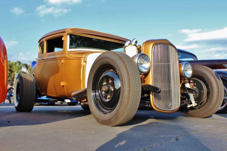 car classic hot rod USA classic retro wallpaper