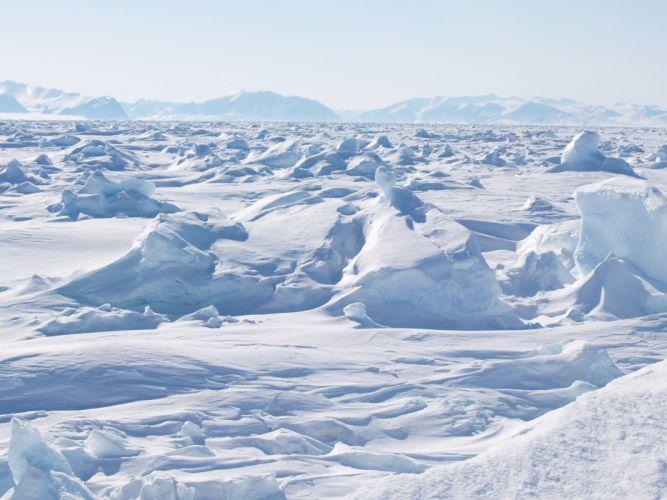 polo-norte-hielo-blanco wallpaper