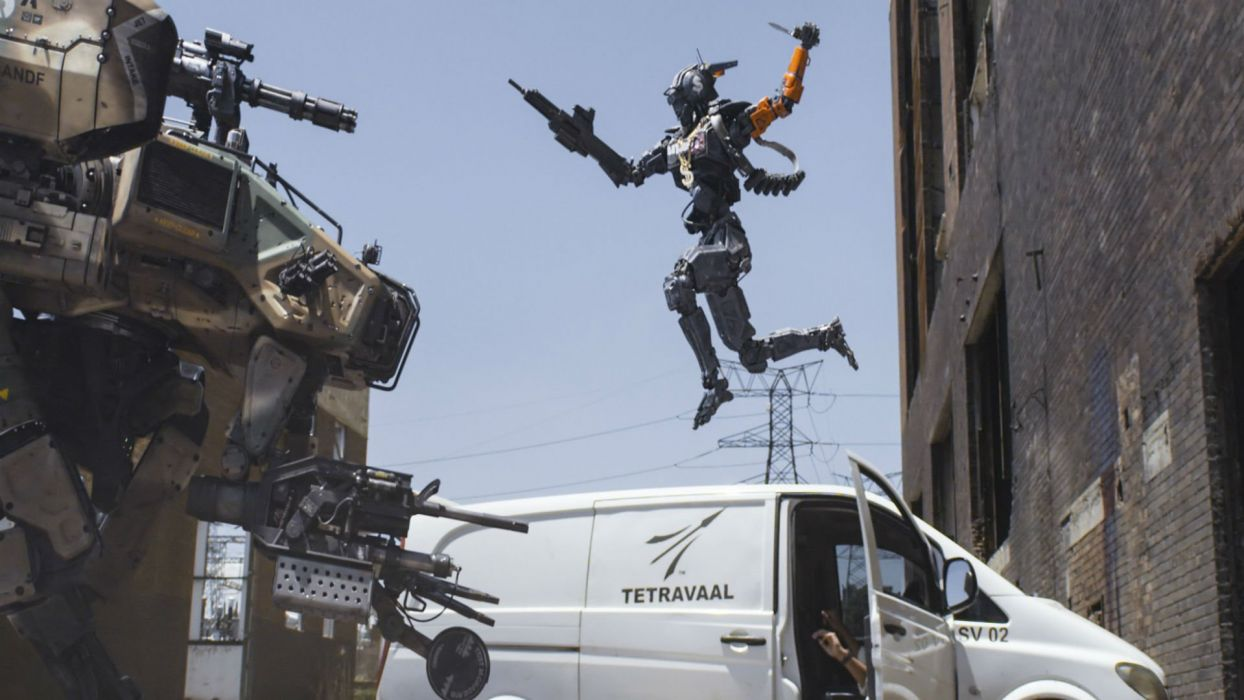 CHAPPIE sci-fi futuristic action thriller robot cyborg action 1chappie wallpaper