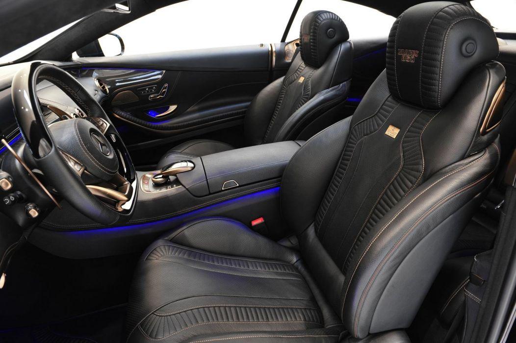 Brabus 850 6 0 Biturbo Coupe cars 2015 wallpaper