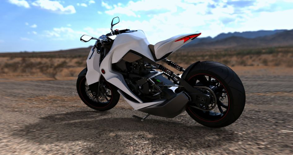 IL - 2012 - concept - Bike - landscape - mountains - motorcycle - Motorcyclist - Race - road - Speed wallpaper