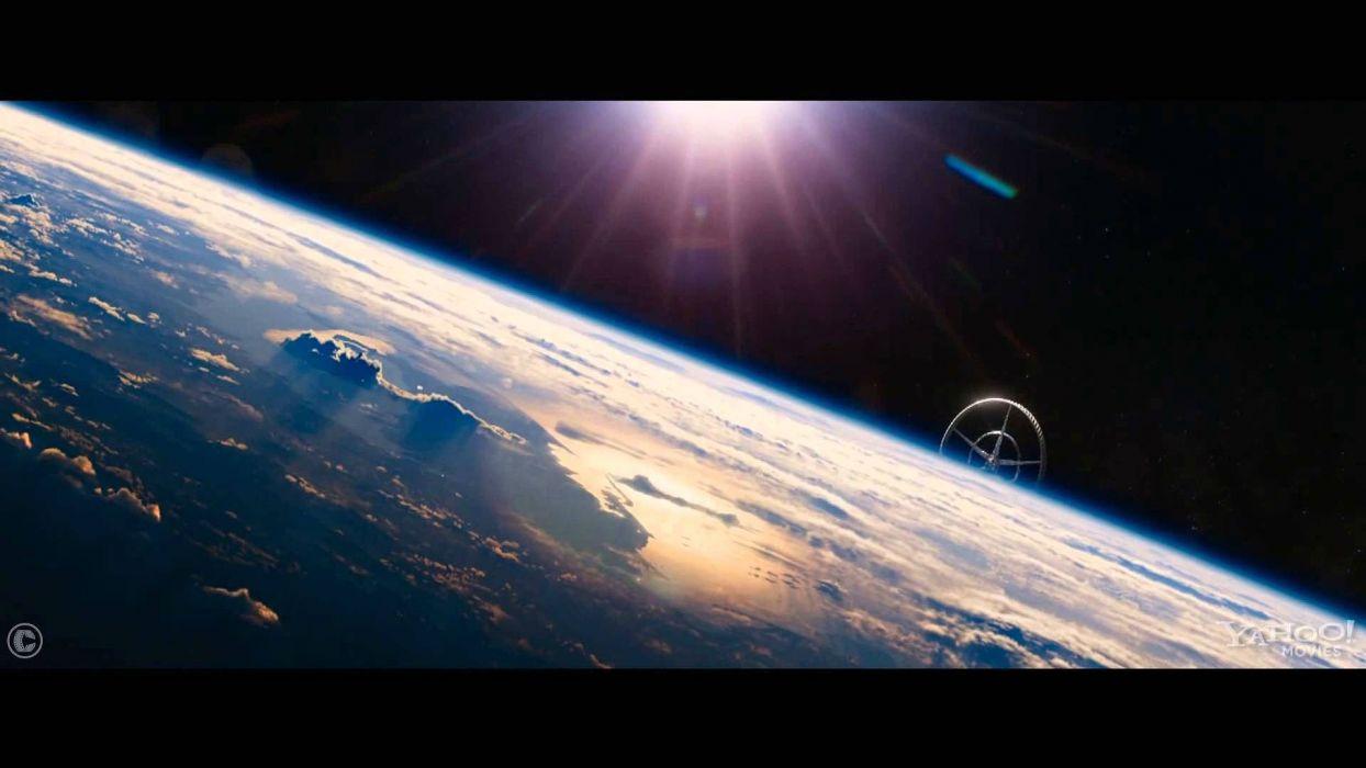 ELYSIUM sci-fi thriller apocalyptic action futuristic drama damon cyborg warrior spaceship wallpaper