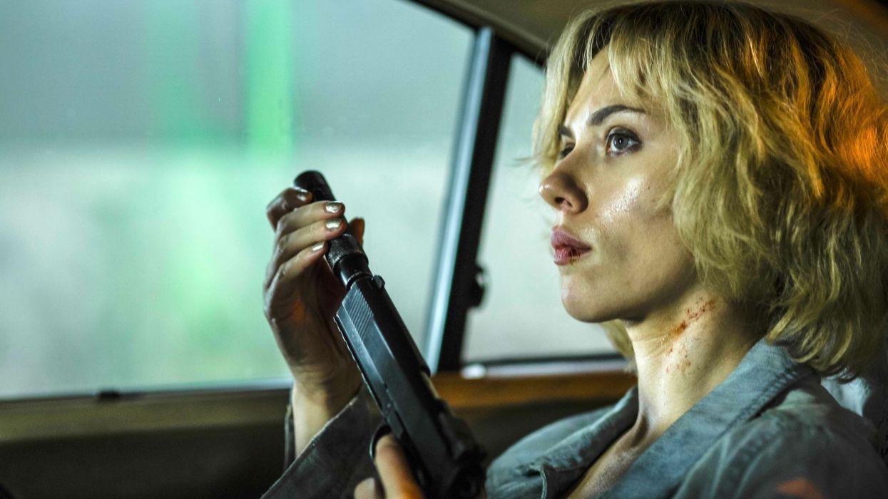 LUCY action sci-fi thriller warrior action scarlett johansson 1lucy crime mafia weapon gun wallpaper