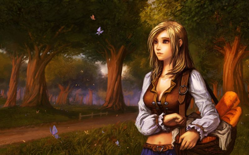 Yaorenwo Warcraft Kira Songshine Fantasy Art wallpaper