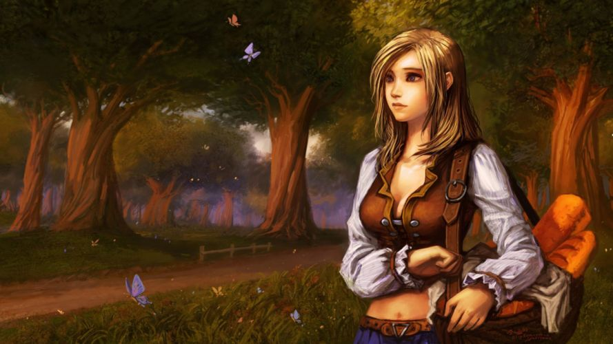 Yaorenwo Warcraft Kira Songshine Fantasy Art wallpaper