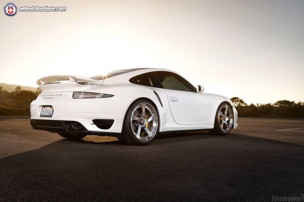 2015 991 cars hre Porsche turbo s Tuning wheels wallpaper