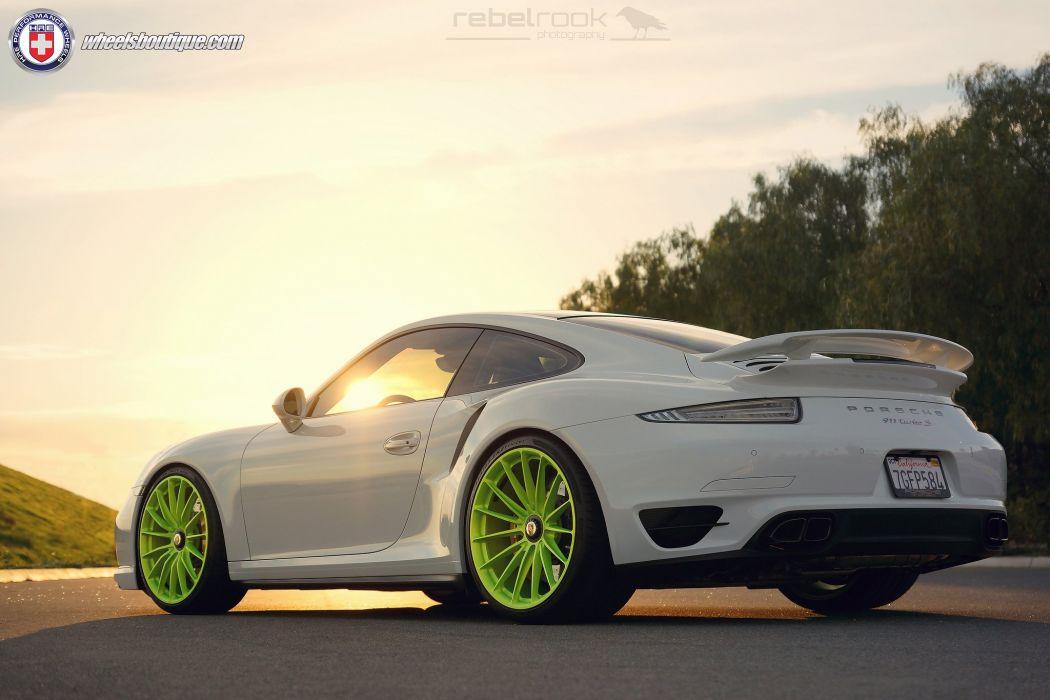 2015 991 cars hre Porsche 991 Turbo Tuning wheels wallpaper