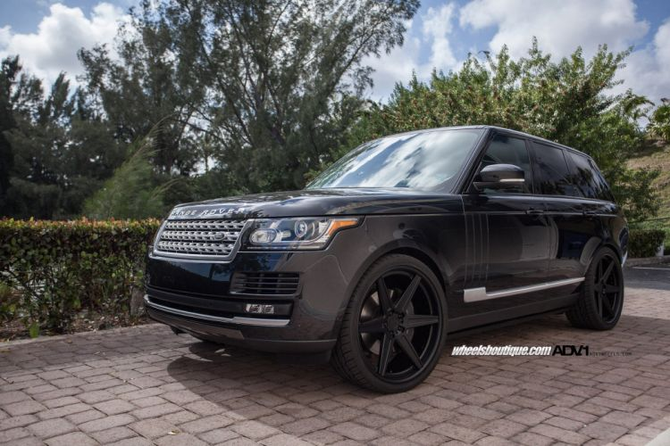 2015 cars adv1 Tuning wheels suv Range Rover black wallpaper