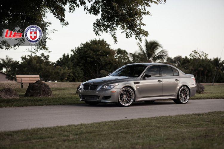 2015 cars HRE Tuning wheels BMW E60 M5 wallpaper