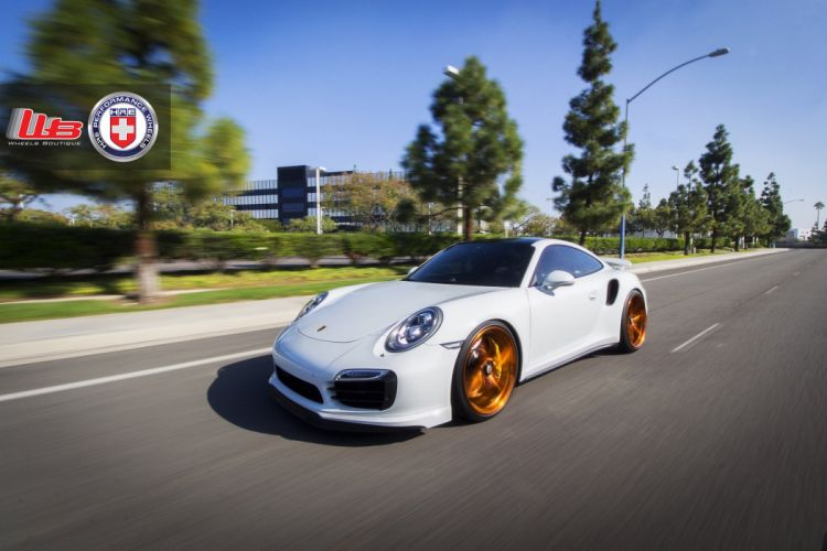 2015 cars HRE Tuning wheels Porsche 991 Turbo S wallpaper