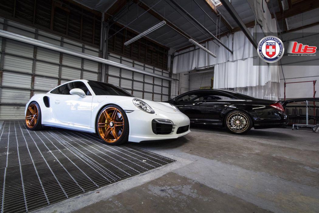2015 cars HRE Tuning wheels Porsche 991 Turbo S  wallpaper