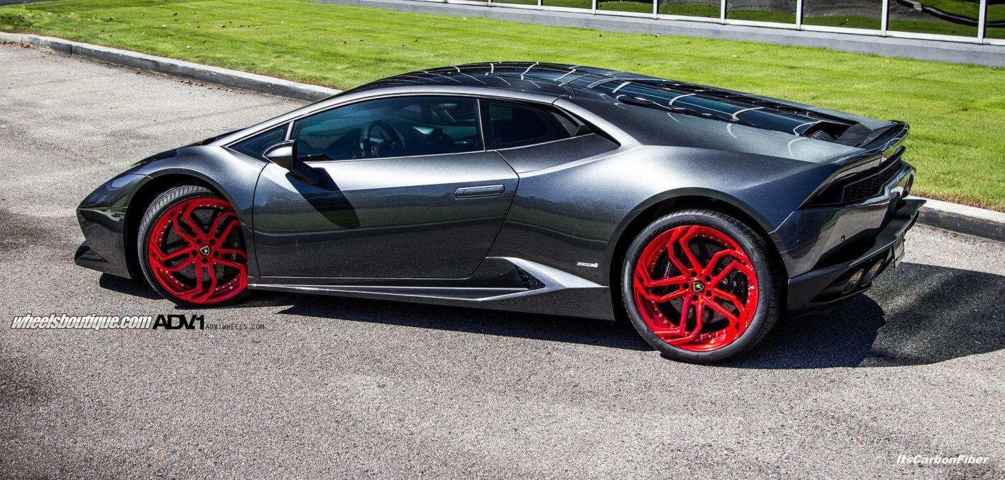 2015 cars adv1 Tuning wheels Lamborghini Huracan wallpaper