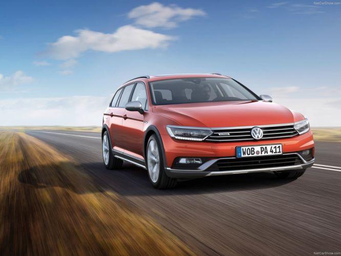 Volkswagen Passat Alltrack cars wagon 2015 wallpaper