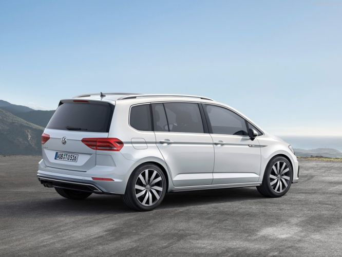 Volkswagen Touran cars 2016 wallpaper