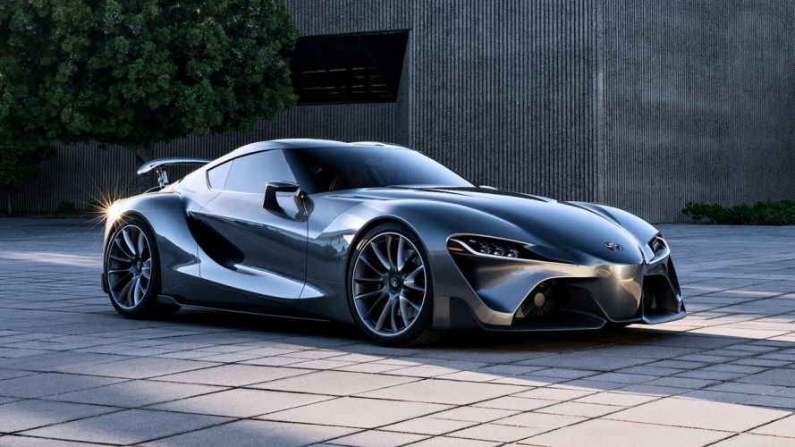 2014 Toyota FT-1 Graphite Concept black speed supercar cars motors race wallpaper