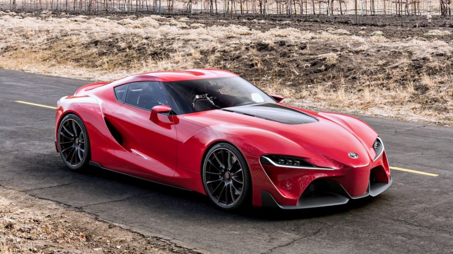 2014 Toyota FT-1 Concept red road speed race supercar cars motors auto wallpaper
