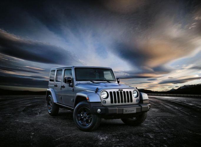 Jeep Wrangler Black Edition II cars 2015 wallpaper