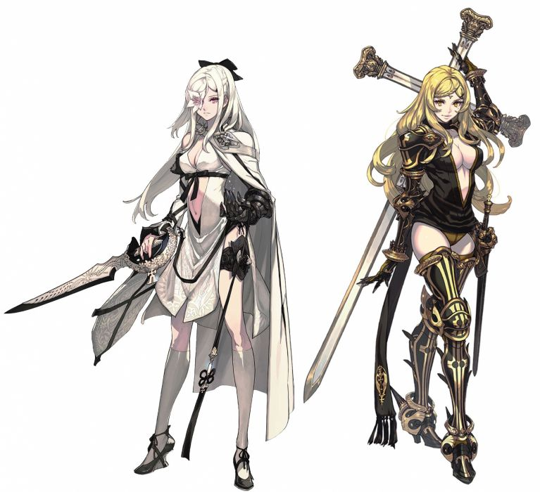 DRAKENGARD drag-on dragoon action rpg mmo online anime 1draken fighting fantasy wallpaper