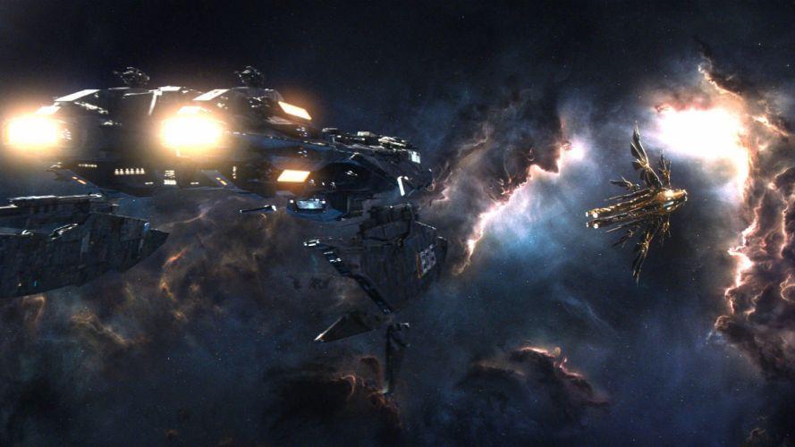 JUPITER ASCENDING sci-fi action adventure futuristic spaceship wallpaper
