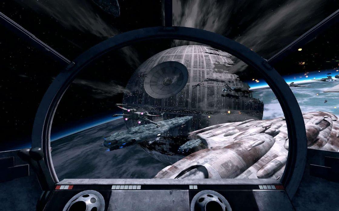 Star Wars Battle Pod Arcade Sci Fi Action Fighting Futuristic Spaceship Wallpaper 1920x1200 629222 Wallpaperup