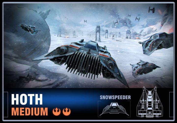 STAR WARS Battle Pod arcade sci-fi action fighting futuristic spaceship wallpaper