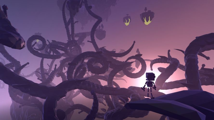 GROW HOME adventure platform sci-fi robot exploration family animation 1grh game wallpaper