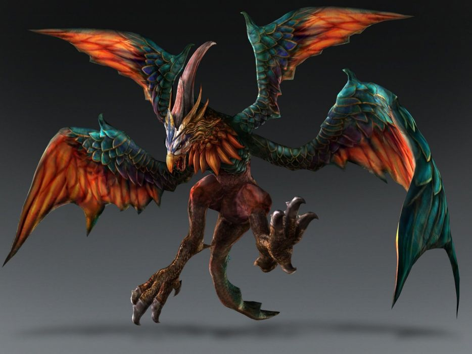 TOUKIDEN action rpg fantasy hunting adventure action fighting warrior monster hunter wallpaper