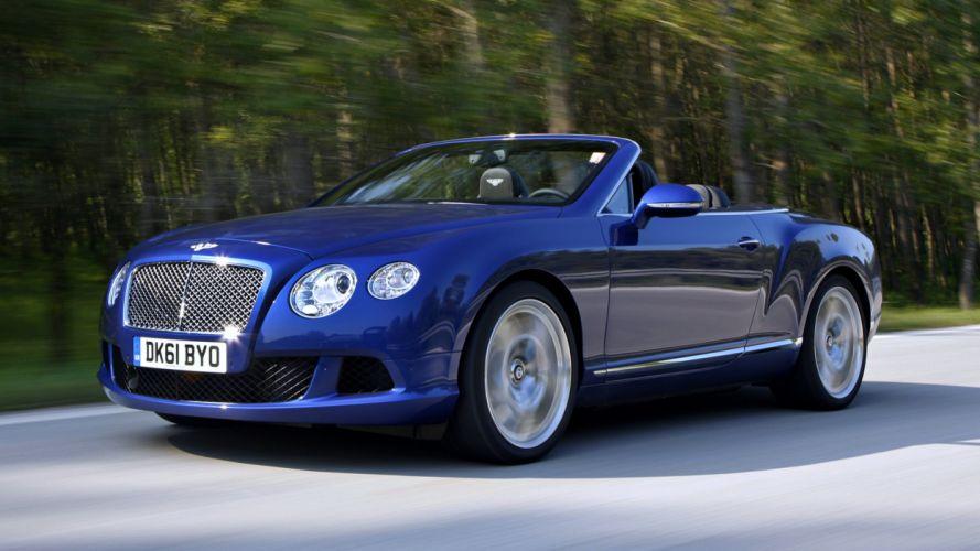 2011 Bentley Continental GTC road cars roof blue beach boat landscape speed motors wallpaper