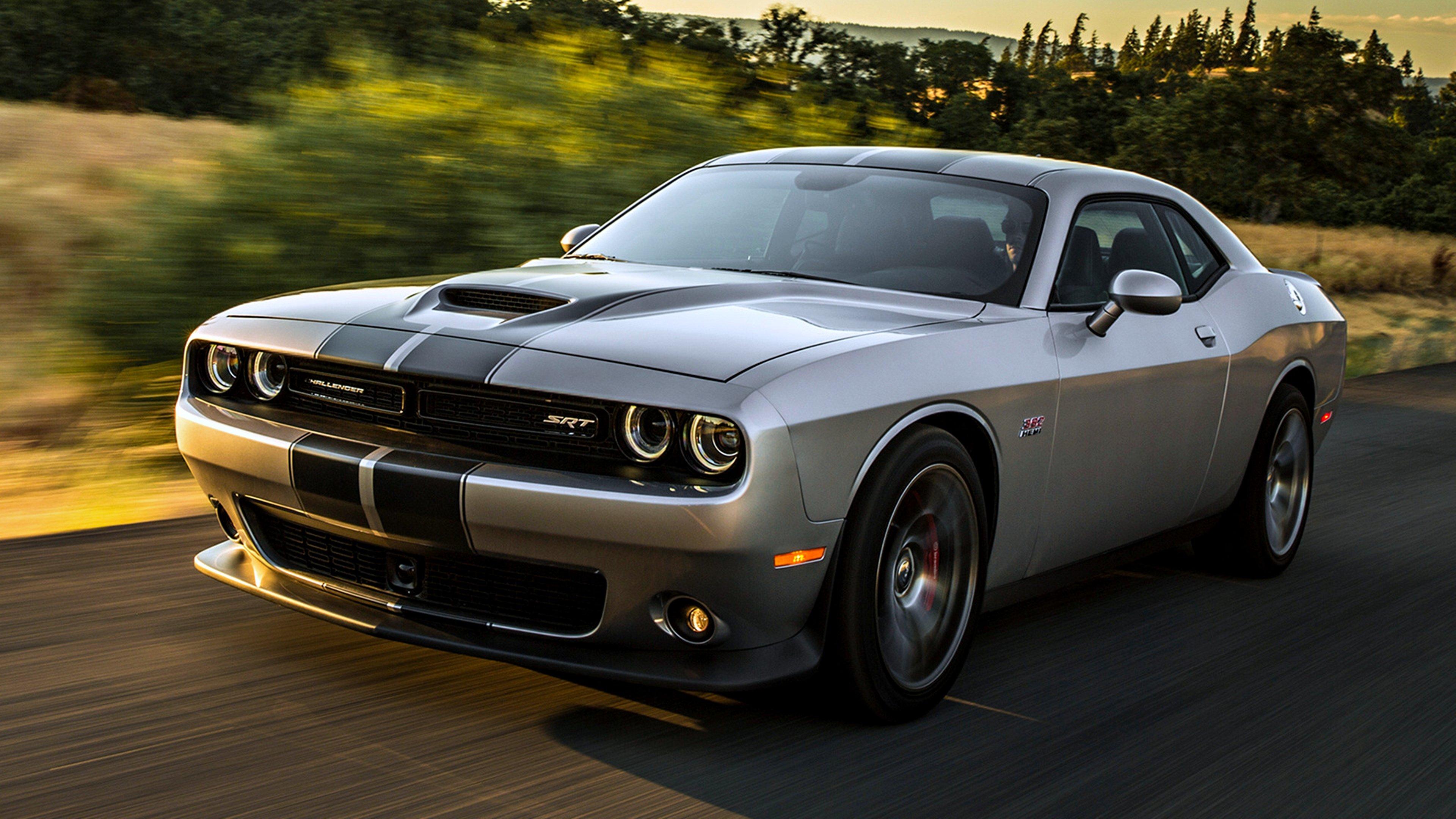 2015 Dodge Challenger Srt 392 Gray Silver Road Speed