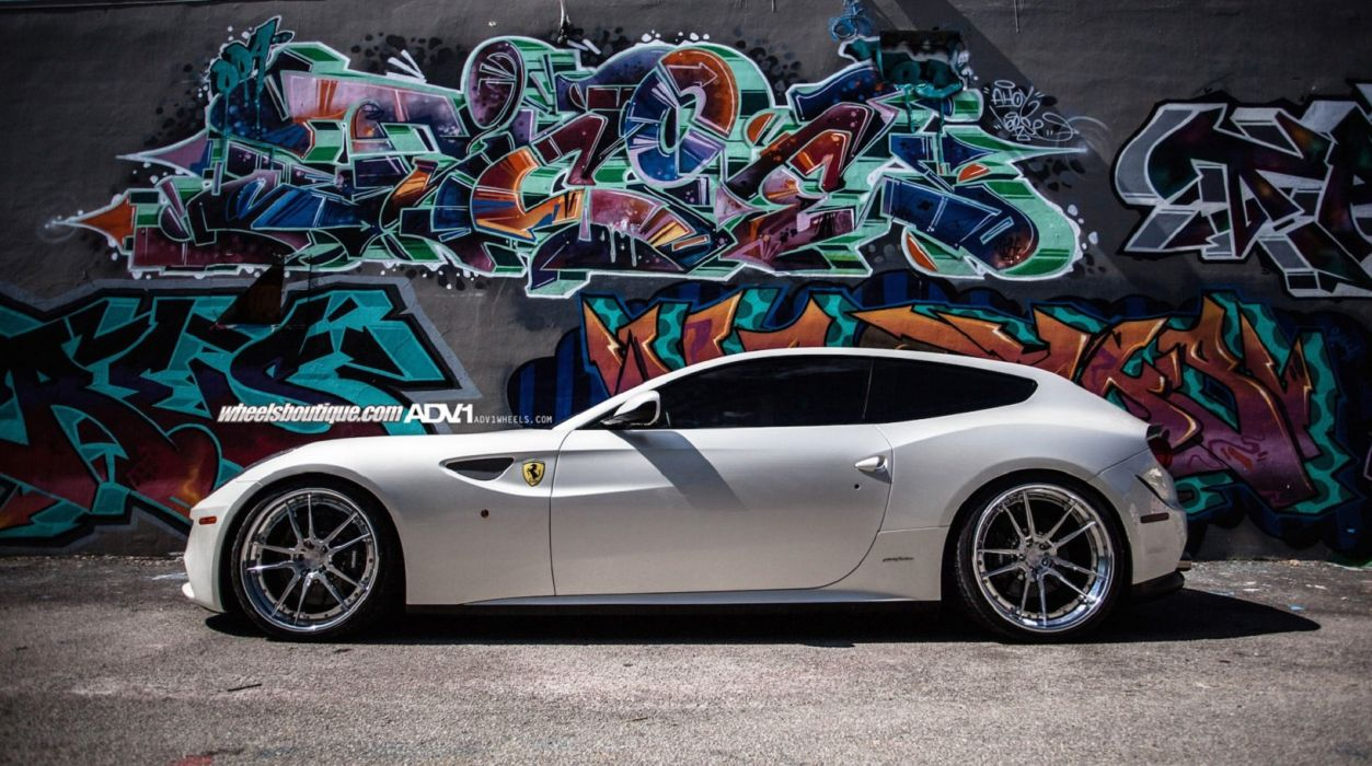 2015 ADV1 Wheels Tuning Cars Ferrari FF Wallpaper