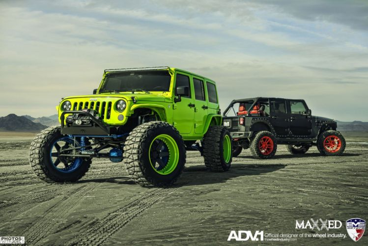 2015 ADV1 wheels tuning cars JEEP WRANGLER wallpaper