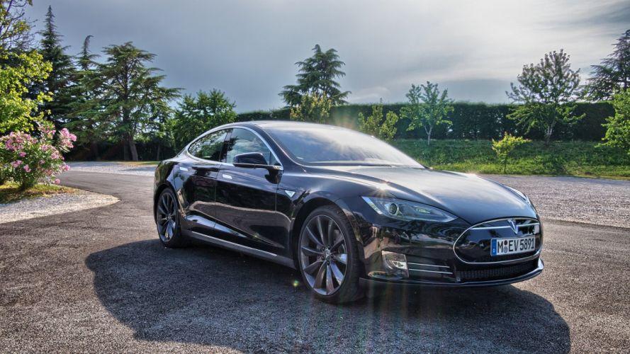 tesla model s cars electric wallpaper