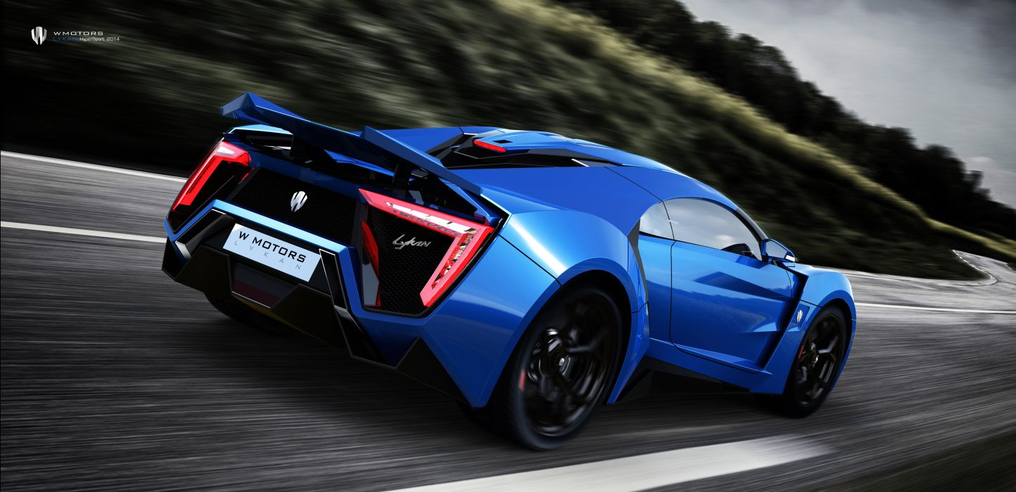 W Motors Lykan HyperSport 2014 4K wallpaper
