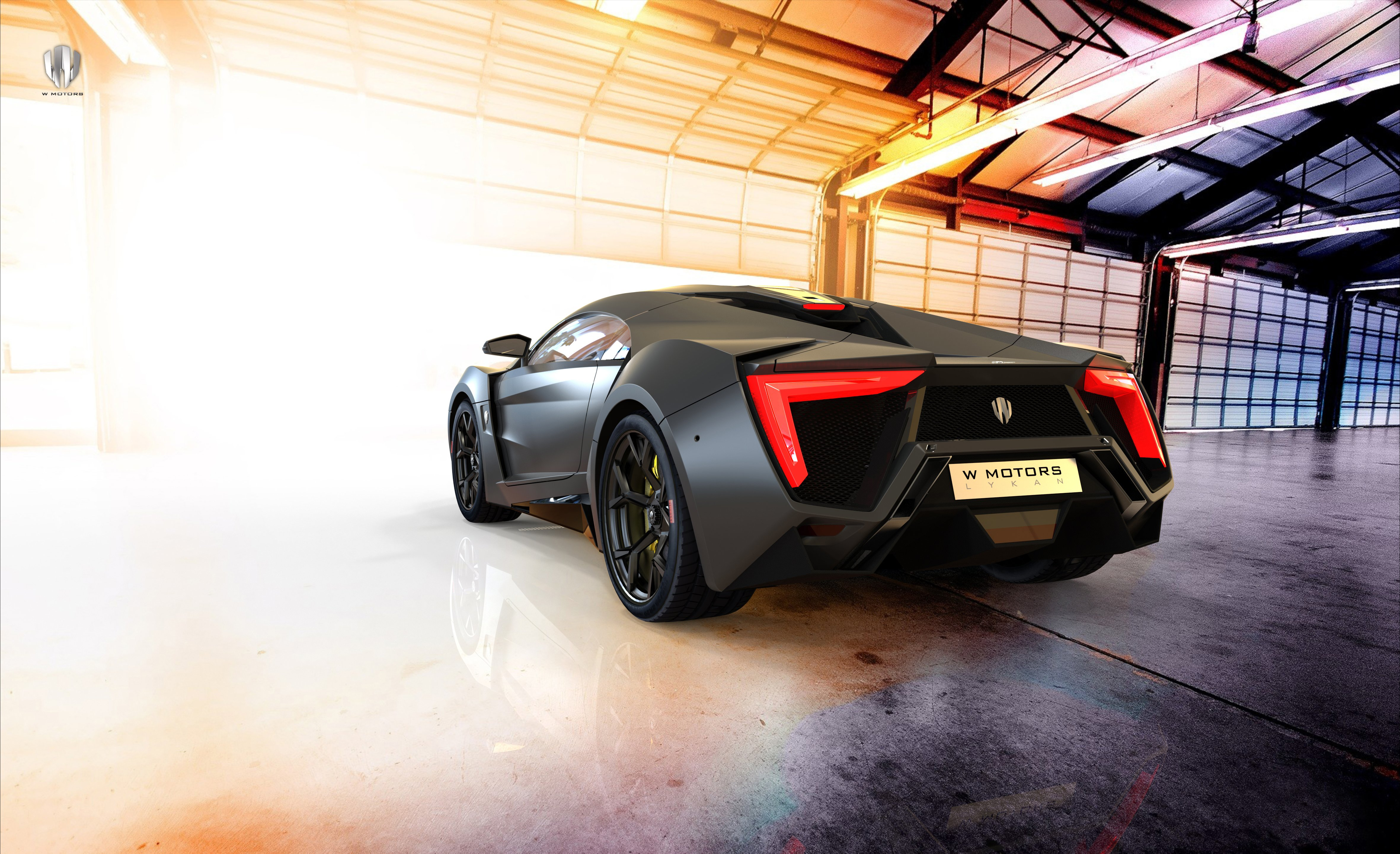 W Motors Lykan HyperSport 2014 4K wallpaper 4724x2883 629636