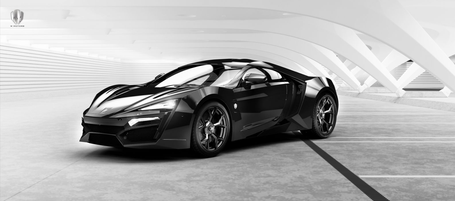 W Motors Lykan HyperSport 2014 4K wallpaper | 7468x3297 | 629638