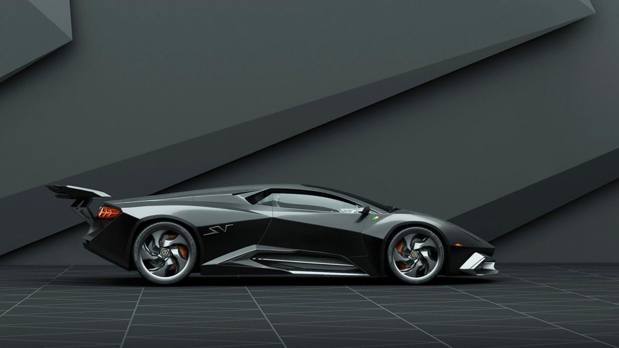 Lamborghini Phenomeno Super Veloce concepts cars wallpaper