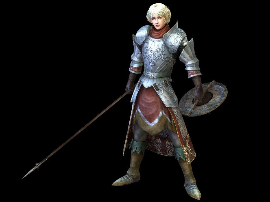 BLADESTORM tactical fighting fantasy medieval warrior wallpaper