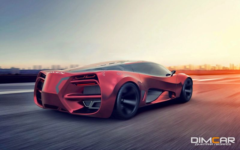 2015 Lada Raven Supercar Concept cars wallpaper