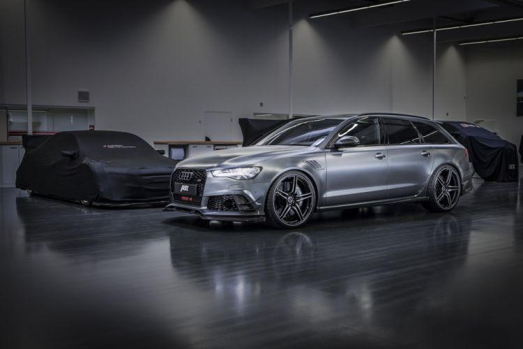 2015 ABT audi RS 6-R Avant wagon cars tuning wallpaper