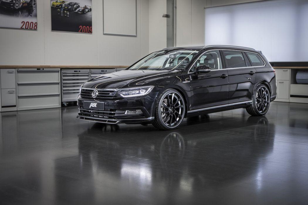 2015 ABT Volkswagen Passat Variant cars tuning wallpaper
