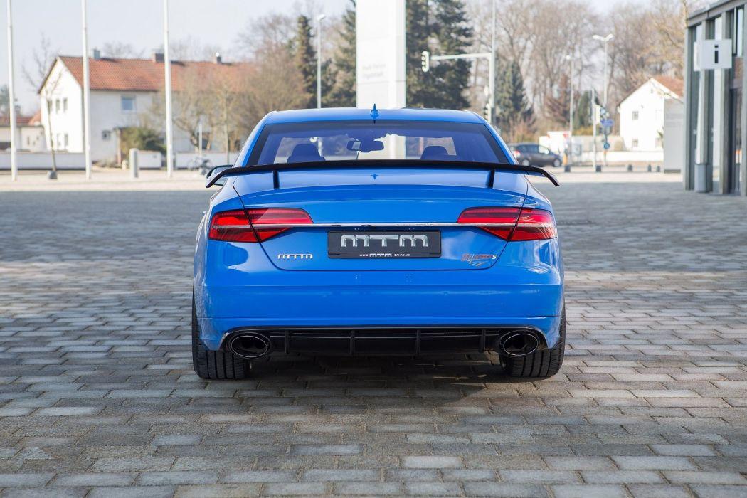2015 MTM Audi S 8 Talladega S t cars tuning wallpaper