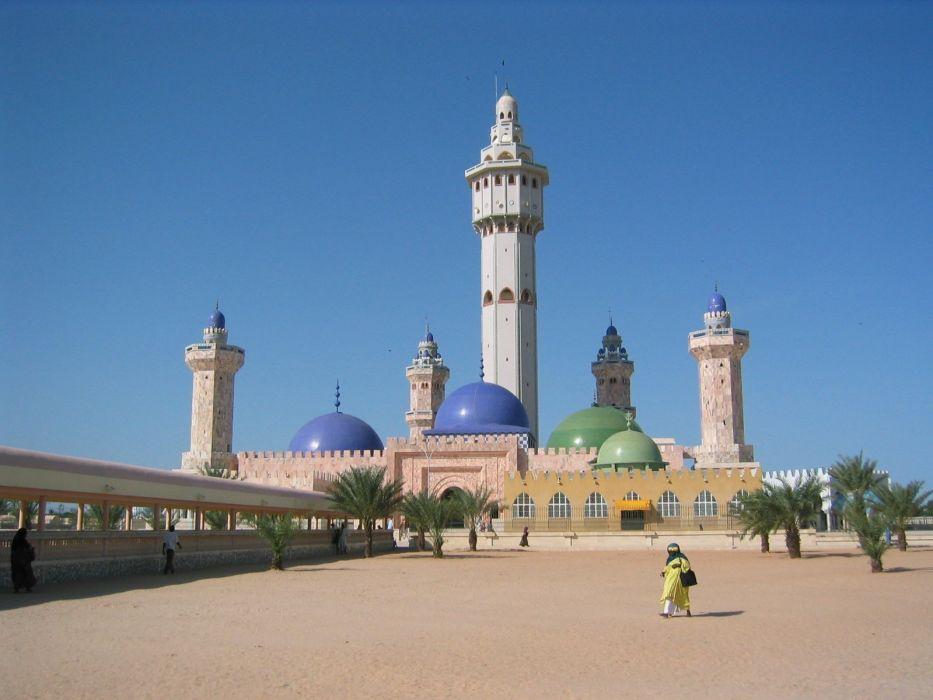 mezquita-islam-senegal-arquitectura wallpaper