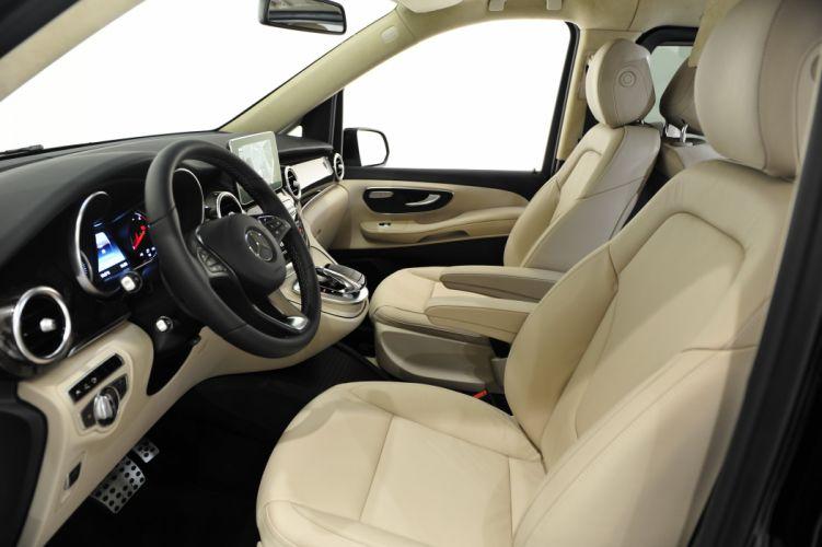 Brabus Mercedes Benz V 250 BlueTec 2015 van cars wallpaper