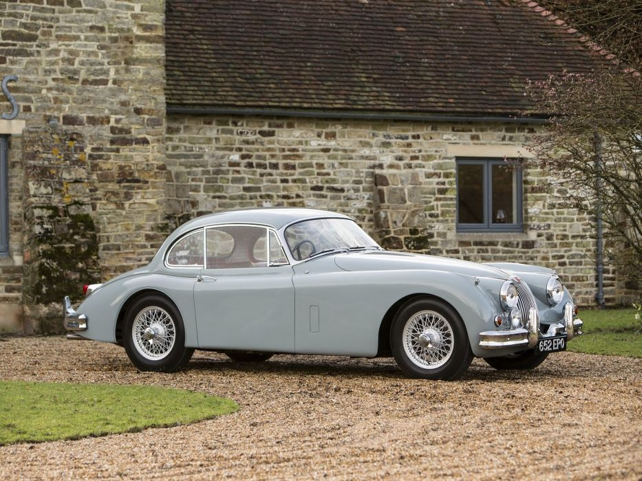 Jaguar XK150 Fixed Head Coupe classic cars 1958 wallpaper