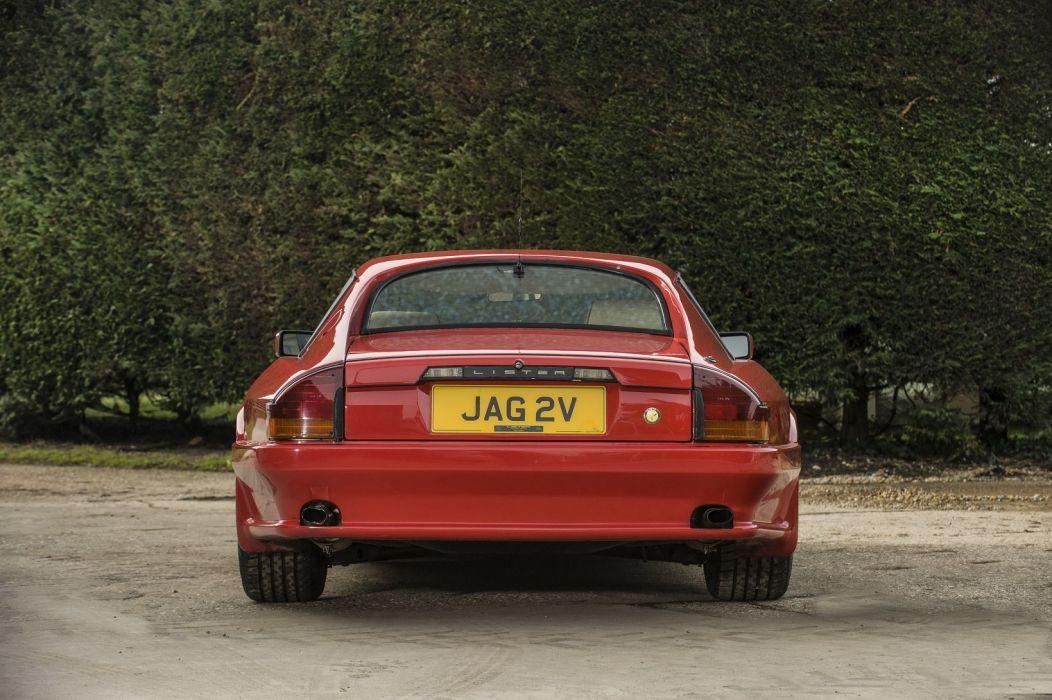 Lister Jaguar XJ-S 6 0-Litre Coupe 1989 classic cars wallpaper