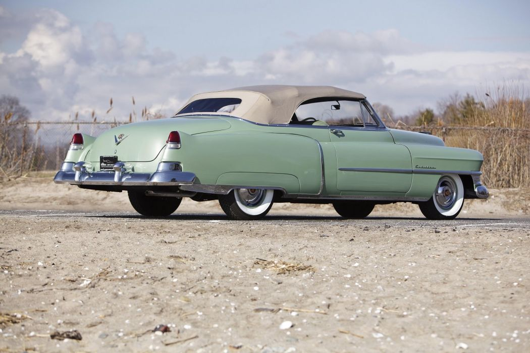 1951 Cadillac Sixty-Two Convertible cars classic wallpaper
