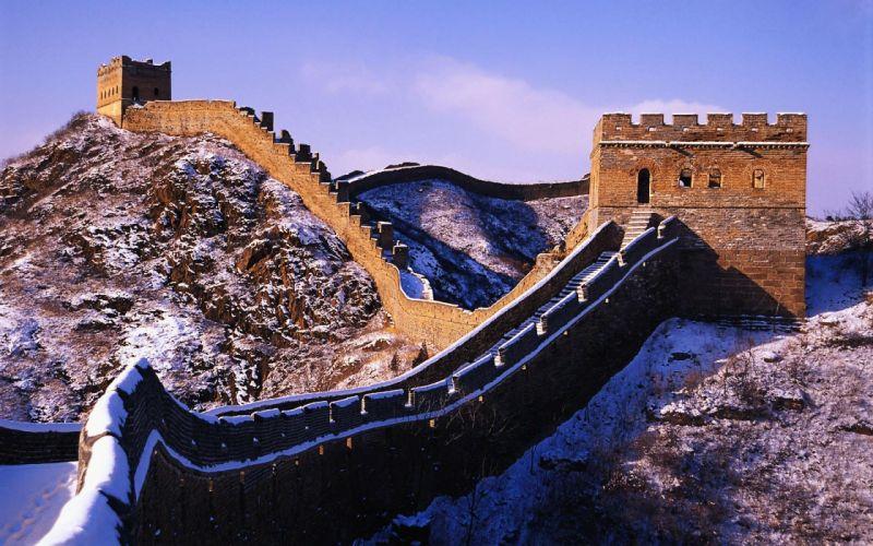 gran muralla-china-paisaje-arquitectura wallpaper
