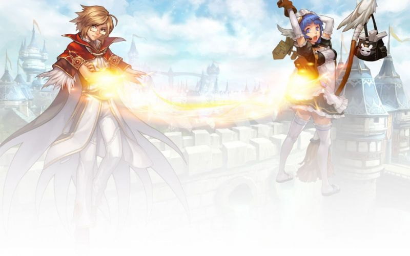 RAGNAROK Online mmo rpg fantasy action adventure 1ragnarok anime fighting game wallpaper